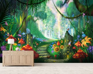Hidden Treasure Wall Mural