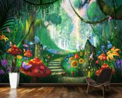 Hidden Treasure mural wallpaper kitchen preview