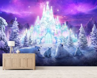 Winter Christmas Wallpaper Wall Murals Wallsauce USA
