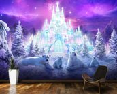 A Winter Wonderland wall mural kitchen preview