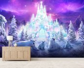 A Winter Wonderland wall mural living room preview