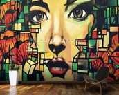 Graffiti - Beauty mural wallpaper kitchen preview