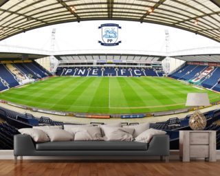 View from Sir Tom Finney Stand Wallpaper Wall Murals