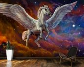 Pegasus and Starry Sky mural wallpaper kitchen preview