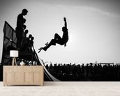 Skateboard - Jump wall mural living room preview