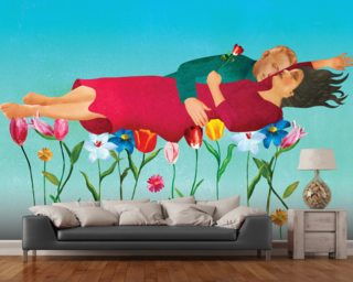 Fear of dying Wall Murals Wallpaper