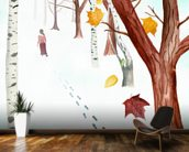 Power of forgetting mural wallpaper kitchen preview