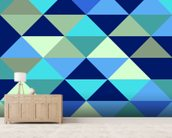 Crystal Ocean wall mural living room preview