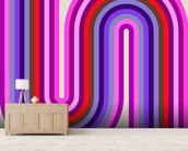 Flow Candy 1 wallpaper mural living room preview