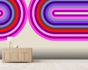 Flow Candy 3 mural wallpaper living room preview