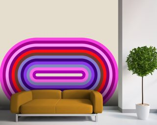 Flow Candy 2 wall mural