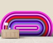 Flow Candy 2 wall mural living room preview