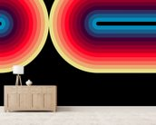 Dark Flow 3 wall mural living room preview
