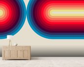 Light Flow 3 wall mural living room preview