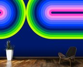 Neon Flow 3 wall mural kitchen preview