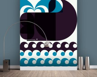 Grand Chacalot Light wallpaper mural
