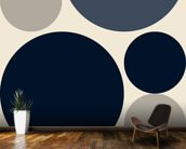 Mono Discs wall mural kitchen preview