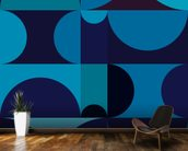 Radia Dark wall mural kitchen preview