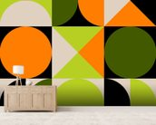 Tic Tac Toe wall mural living room preview