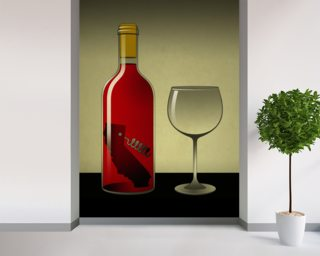 California Wine Mural Wallpaper Wallpaper Wall Murals