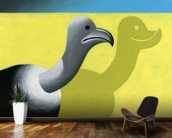 Vulture wall mural kitchen preview