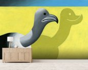 Vulture wall mural living room preview