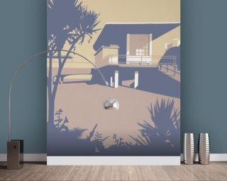 Boscombe Pier and Beach Wall Mural Wall Murals Wallpaper