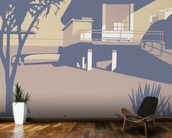 Boscombe Pier and Beach wall mural kitchen preview