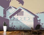 Canford Cliffs and Old Harry Rocks wall mural kitchen preview