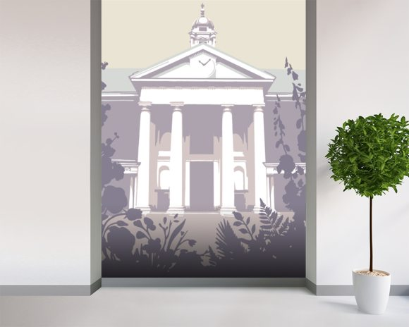 Chelsea Flower Show 2 mural wallpaper room setting