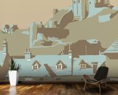 Corfe Castle wall mural kitchen preview