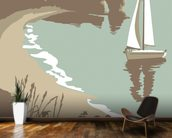 Durdle Door mural wallpaper kitchen preview