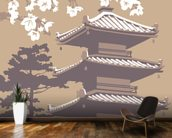 Japan mural wallpaper kitchen preview
