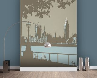 London Wallpaper Wall Murals