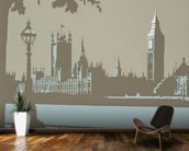 London wall mural kitchen preview