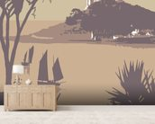 Marazion 1 wall mural living room preview