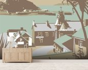 Marazion 2 wallpaper mural living room preview