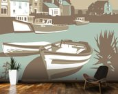 Padstow 1 wall mural kitchen preview