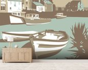 Padstow 1 wall mural living room preview