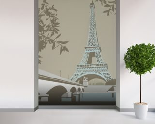 Paris Wallpaper Mural Wall Murals Wallpaper