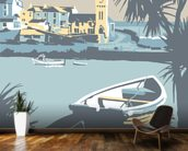 Porthleven wall mural kitchen preview