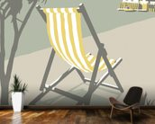 Rock Deckchair wallpaper mural kitchen preview