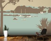 Sandbanks and Brownsea Island wallpaper mural kitchen preview