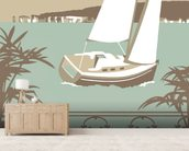 Sandbanks Balcony 2 wall mural living room preview