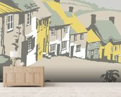 Shaftesbury wall mural living room preview