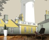 Sole Bay Inn 1 mural wallpaper kitchen preview