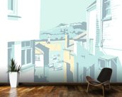 St Ives 2 mural wallpaper kitchen preview