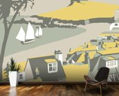 St Ives 3 wall mural kitchen preview