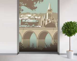 Truro Wall Mural Wall Murals Wallpaper