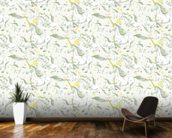 Ambrosia unicorns mural wallpaper kitchen preview